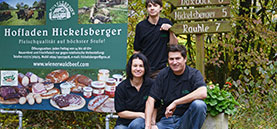Gärtnerei Ganger | Unsere Bauern | Hofladem Hickelsberger