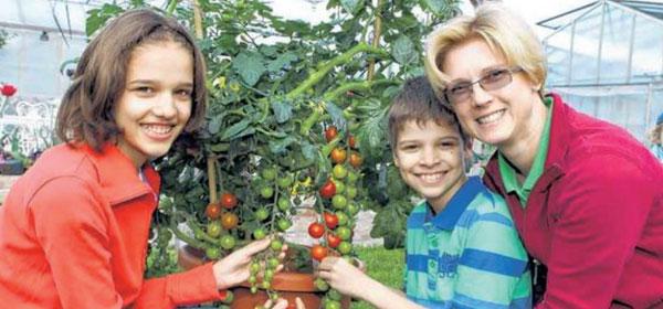 Gärtnerei Ganger | Pressebericht Kinderkurier
