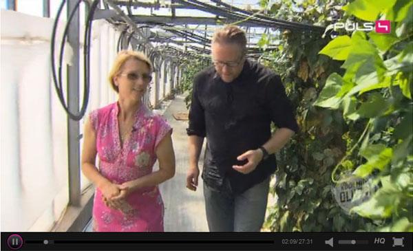 Gärtnerei Ganger zu Gast bei Koch mit Oliver (06.09.2014)