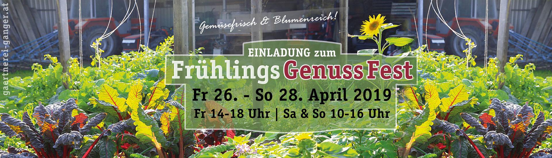 Gärtnerei Ganger | FrühlingsGenussFest 2019