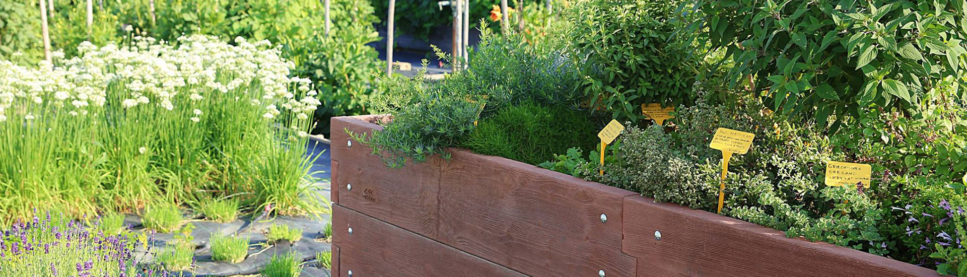 Gärtnerei Ganger | Hochbeetgarten
