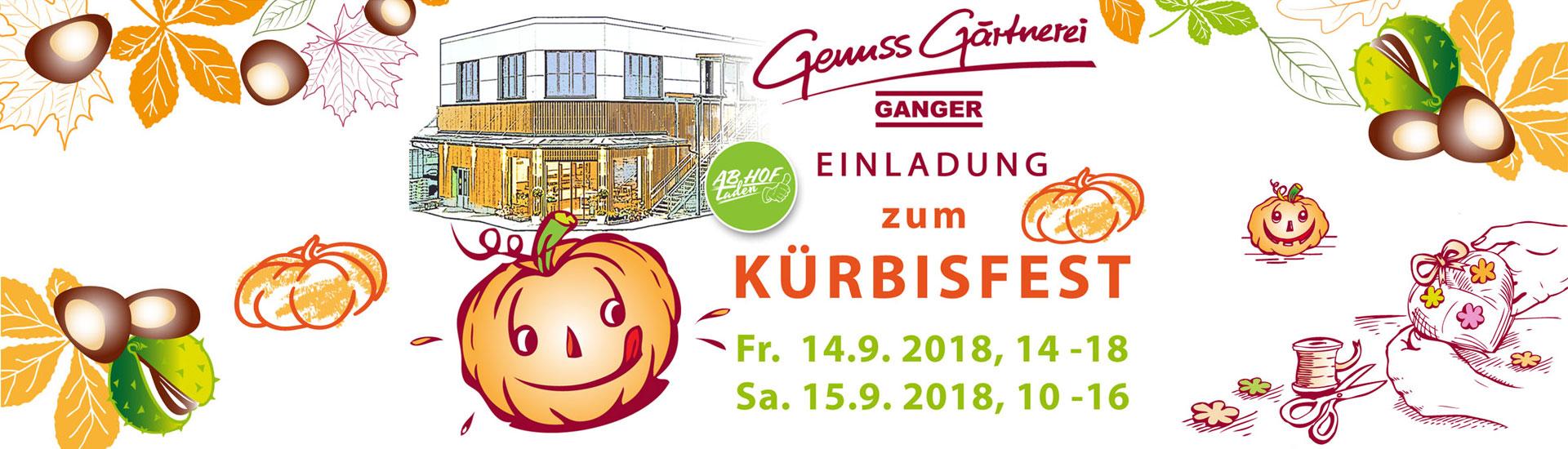 Gärtnerei Ganger | Kürbisfest 2018