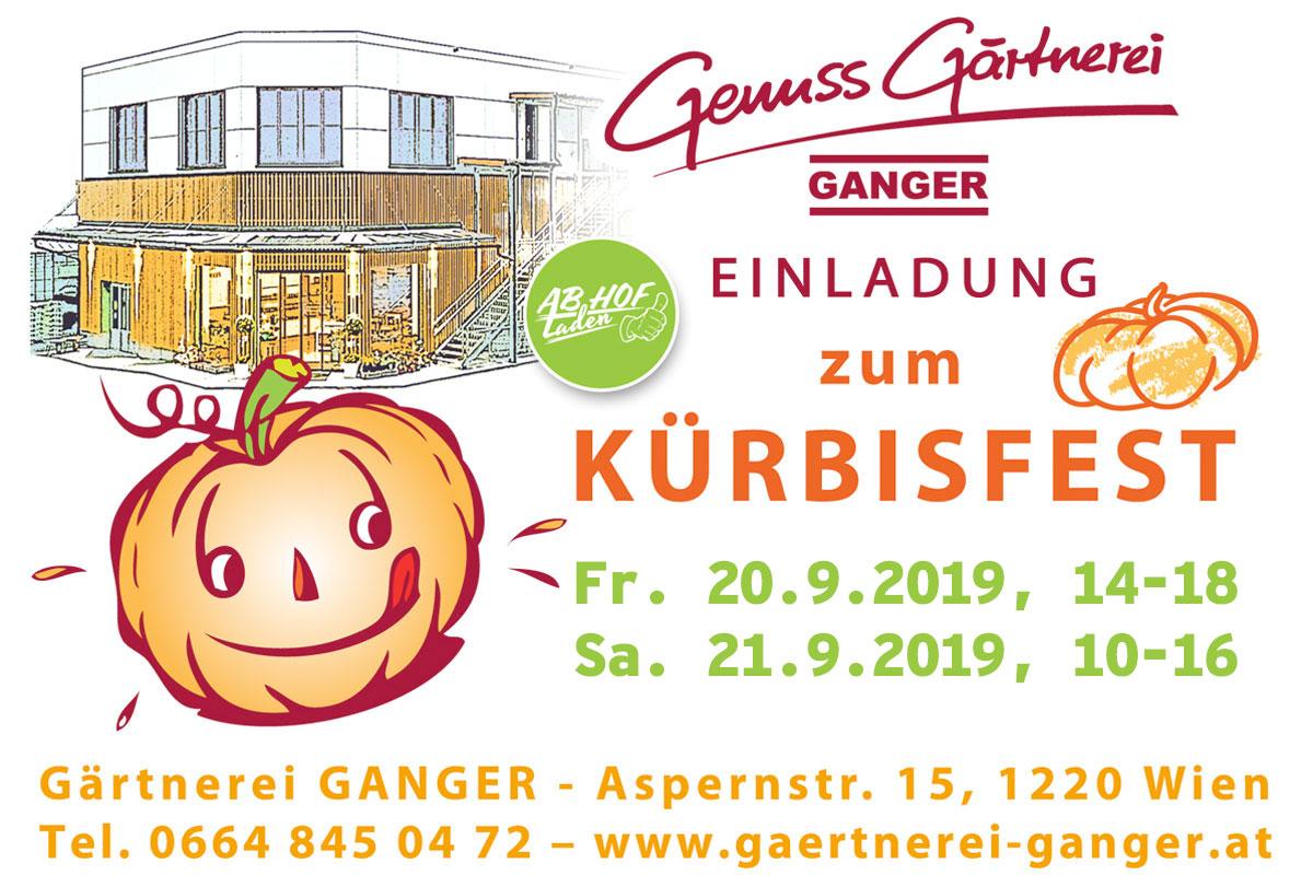 Gärtnerei Ganger | Kürbisfest 2019