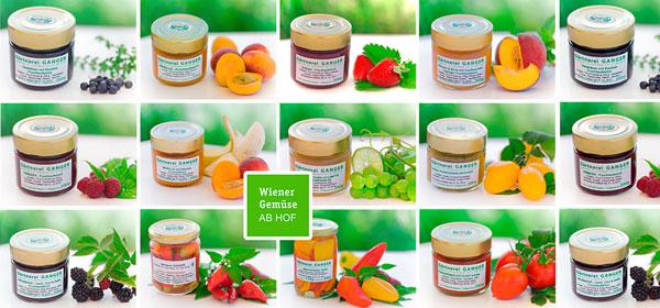 Gärtnerei Ganger | Verarbeitetes - Süßes und Saueres